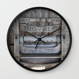 Grandma's Washer Wall Clock