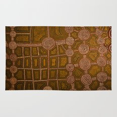 Aboriginal background Rug