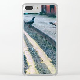Out on the Town #2 Clear iPhone Case