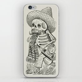 Calavera of Francisco Madero, Posada iPhone Skin