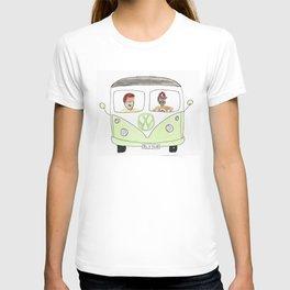 A green ride T-shirt
