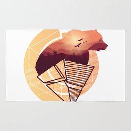 Bear Design Rug