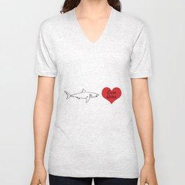 Love Bites Unisex V-Neck