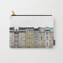Quai de Saone, Lyon, France, French facade Carry-All Pouch
