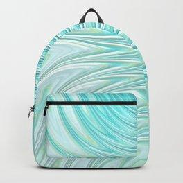 Teal Dreams Collection (6) - Fractal Art  Backpack