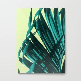 Palm leaves  #buyart #decor #society6 Metal Print