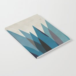 Blue Tulip Notebook