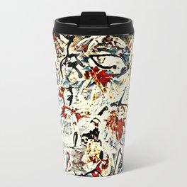 abstract funny 1 Travel Mug