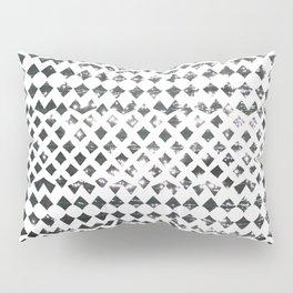 Glimmering Sea Water Mosaic Pillow Sham