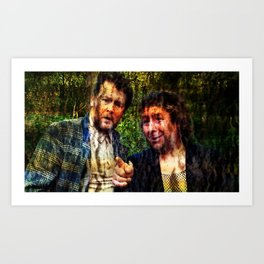 Rab Insists I Will Tell You This Art Print