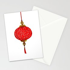 Chinese Lantern Stationery Cards