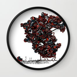 The chattering class  -alt Wall Clock