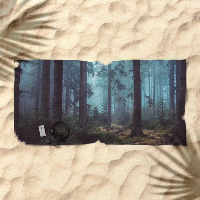In the Pines Beach Towel