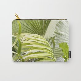 Palm Leaves - Ficus Fig Leaf - Tropical Carry-All Pouch