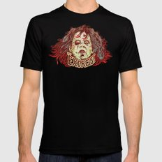 Exorcist Mens Fitted Tee Black LARGE