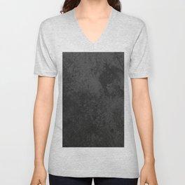 Dark marble Unisex V-Neck