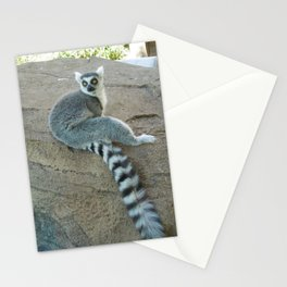 Julien of the Lemur Stationery Cards