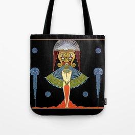"""Art Deco Theatre Design """"Salome"""" Tote Bag"""