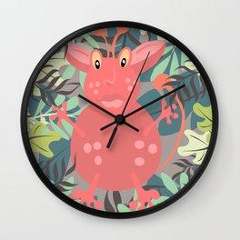 Happy Go Lucky Monster Wall Clock