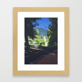 Jardin du Monastère de Cimiez Framed Art Print