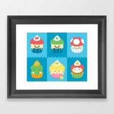 YUMario Bros Framed Art Print