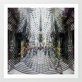 Converges inside rim cycles, losing every symptom. Art Print