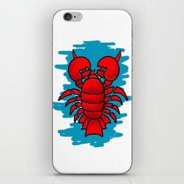 Sea Lobster iPhone Skin