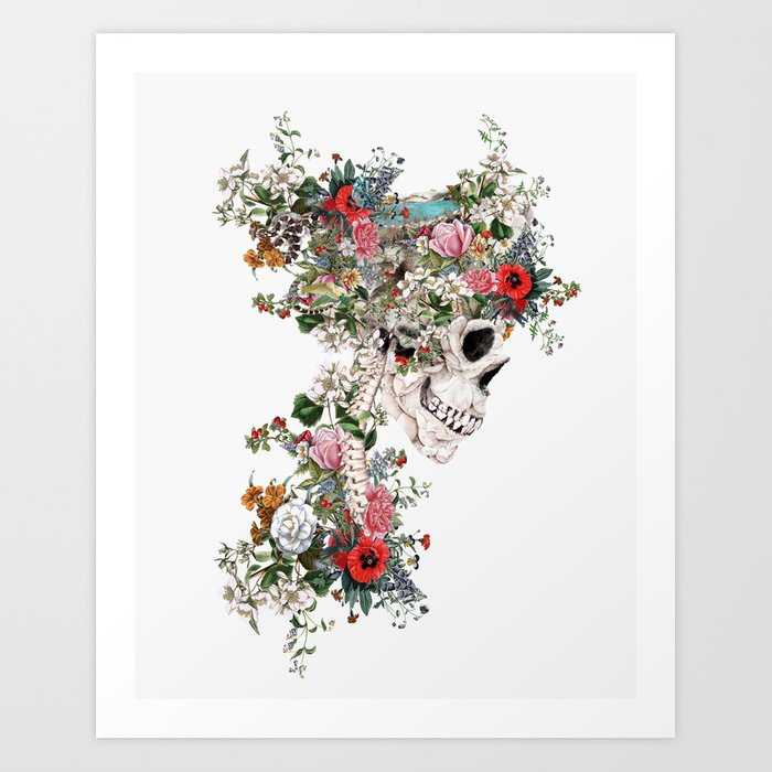 Skull Queen Kunstdrucke