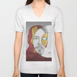 circlefaces Unisex V-Neck