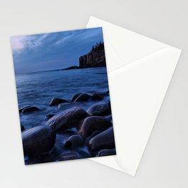 Acadia National Park, Boulder Beach. Stationery Cards