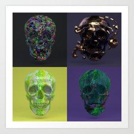 Skull Collection 01 Art Print