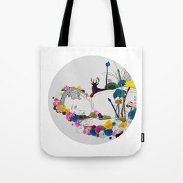 Flower Funeral Tote Bag