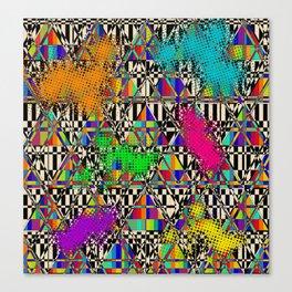 Punkylicious Canvas Print