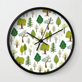 Hexagon Tile Pattern Wall Clock