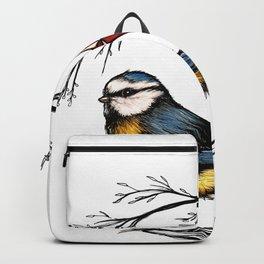 Blue Tit - Blaue Meise Backpack