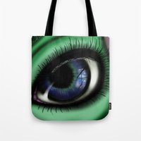 transformer Tote Bags featuring Jaded by ShaylahLeigh