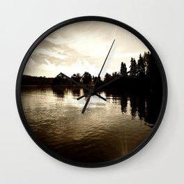 Loch Lomond Sunshine Wall Clock