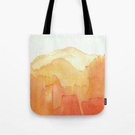 Orange Distance Tote Bag