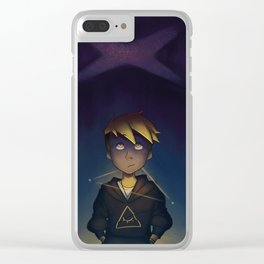 waiting for the world to end Clear iPhone Case