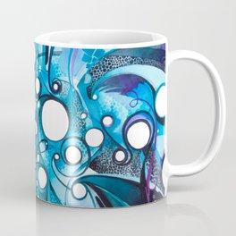 Medium Hadron Collider - Watercolor Painting Coffee Mug