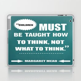 Famous Author Inspirational childrens Quote Laptop & iPad Skin