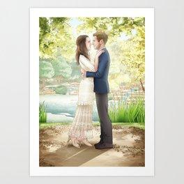 Fitzsimmons - Wedding Portrait Art Print