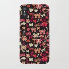 Butterflies iPhone X Slim Case