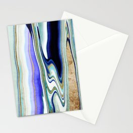 geode art, agate art, agate slice, agate slice art, mineral art, abstract agate, contemporary art Stationery Cards