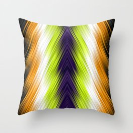 stripes wave pattern 8v1 std Throw Pillow