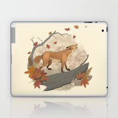 Fox and rabbit Laptop & iPad Skin