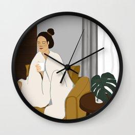 Enjoy Weekend  Wall Clock