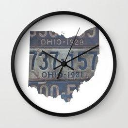 Vintage Ohio Wall Clock