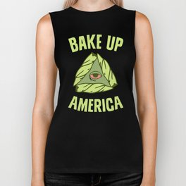 BAKE UP AMERICA T-SHIRT Biker Tank