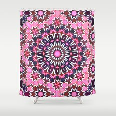 FEZ Moroccan Tiles {4H} Shower Curtain